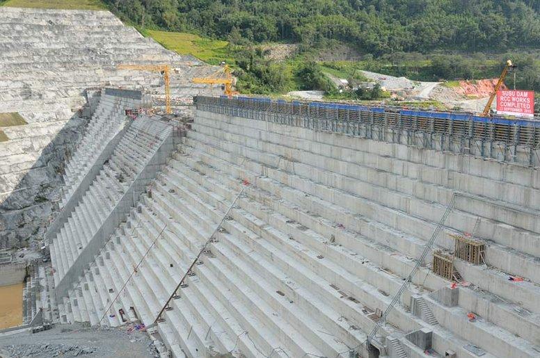 Roller Compacted Concrete Dam : Ulu jelai dam stm sviluppo tecnologie meccaniche