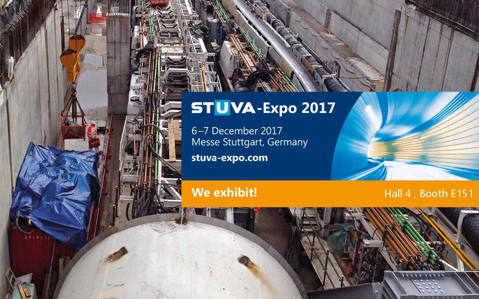 STM at STUVA Expo 2017 – Stuttgart
