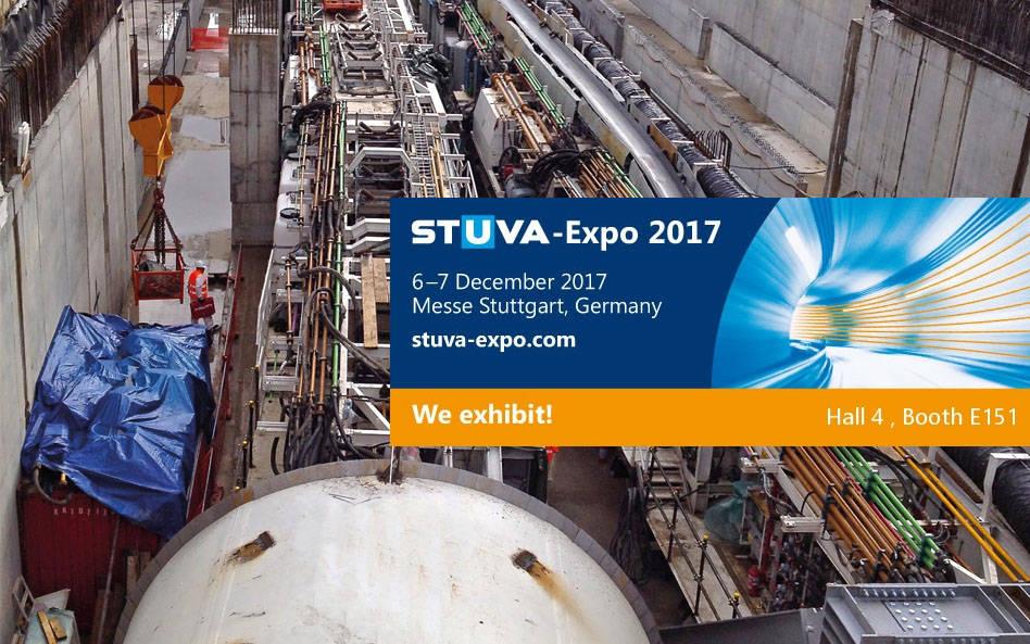 STM at STUVA Expo 2017 – Stuttgart